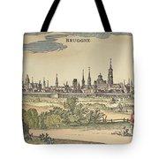 Flanders: Bruges, 1720 Tote Bag by Granger