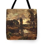 Flatford Mill From The Lock Tote Bag by John Constable