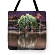 Flooded Tree Tote Bag by Sonny Marcyan