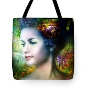 Flora Tote Bag by Mary Hood