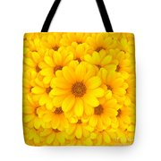 Flower background Tote Bag by Carlos Caetano