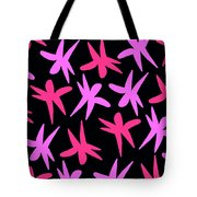 Flower Stars  Tote Bag by Louisa Knight