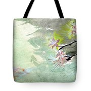 Flowers 3 Tote Bag by Anil Nene