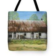 Floyd Arkansas' Oldest House Tote Bag by Mary Ann King
