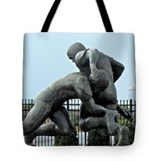 Football At Citizens Bank Park Tote Bag by Alice Gipson