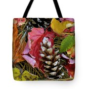 Forest Floor Portrait Tote Bag by Rich Franco