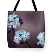 Forget Me Not 01 - S05dt01 Tote Bag by Variance Collections