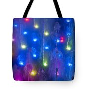 Fountain Of Color Tote Bag by John Greim
