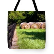 Four Corners Tote Bag by Karen Wiles