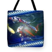 Framed Coy  Tote Bag by Mauro Celotti