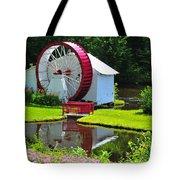 Franconia Notch Waterwheel Tote Bag by Catherine Reusch  Daley