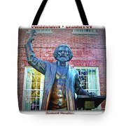 Frederick Douglass Tote Bag by Brian Wallace