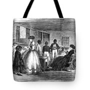 FREEDMEN SCHOOL, 1866 Tote Bag by Granger