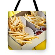 French Fries In Box Tote Bag by Elena Elisseeva