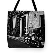 French Street Tote Bag by Georgia Fowler