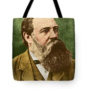 Friedrich Engels, Father Of Communism Tote Bag by Photo Researchers