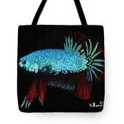 Frilled Blue Moonstone Tote Bag by Kayleigh Semeniuk
