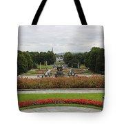 Frogner Park Tote Bag by Carol Groenen