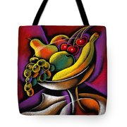 Fruits Tote Bag by Leon Zernitsky