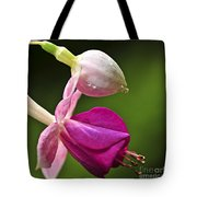 Fuchsia Flower Tote Bag by Elena Elisseeva
