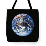 Full Earth From Space Tote Bag by Stocktrek Images