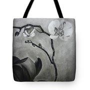Galen's Orchid Tote Bag by Estephy Sabin Figueroa