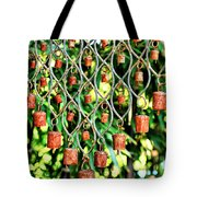 Garden Noah Bells Tote Bag by Cheryl Young
