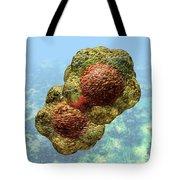 Geminivirus Particle Tote Bag by Russell Kightley