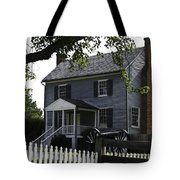George Peers House Appomattox Virginia Tote Bag by Teresa Mucha