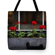 Geranium Flower Box Tote Bag by Doug Sturgess