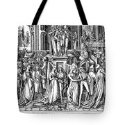 GERMANY: MEDIEVAL BALL Tote Bag by Granger