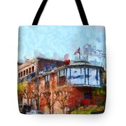 Ghirardelli Chocolate Factory San Francisco California . Painterly . 7d14093 Tote Bag by Wingsdomain Art and Photography