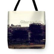 Ghirardelli Square Tote Bag by Linda Woods