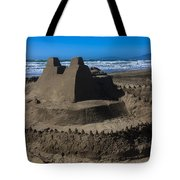 Giant Sand Castle Tote Bag by Garry Gay