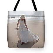 Gibbous Moon Gown Tote Bag by Betsy C  Knapp