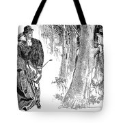 Gibson: Highwayman, 1898 Tote Bag by Granger