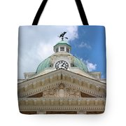 Giles County Courthouse Details Tote Bag by Kristin Elmquist