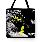 Girl And Her Cat Tote Bag by Marie Jamieson