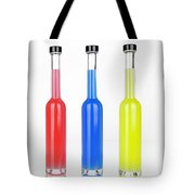Glass Bottles Tote Bag by Joana Kruse