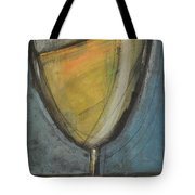 Glass Of White Tote Bag by Tim Nyberg