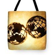 Globe 2 Tote Bag by Tony Cordoza