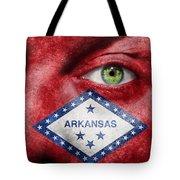 Go Arkansas  Tote Bag by Semmick Photo