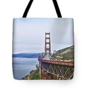Golden Gate Bridge Tote Bag by Betty LaRue