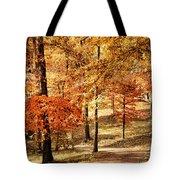 Golden Path Tote Bag by Jai Johnson