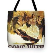 Gone With The Wind Tote Bag by Georgia Fowler