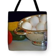 Good Food Tote Bag by Methune Hively