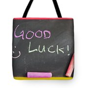 Good Luck Tote Bag by Tom Gowanlock