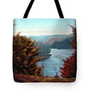 Grand River Look-out Tote Bag by Otto Werner