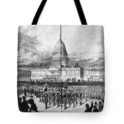GRANTS INAUGURATION, 1873 Tote Bag by Granger