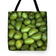 Green Olives Tote Bag by Joana Kruse